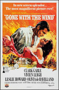 "Movie Posters:Academy Award Winners, Gone with the Wind (MGM, R-1980). 50th Anniversary One Sheet (27"" X 41""). Academy Award Winners.. ..."