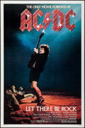 """Movie Posters:Rock and Roll, AC/DC: Let There Be Rock (Warner Brothers, 1982). One Sheet (27"""" X41""""). Rock and Roll.. ..."""