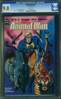 Modern Age (1980-Present):Superhero, Animal Man #1 (DC, 1988) CGC NM/MT 9.8 White pages.