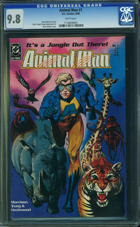 Animal Man #1 (DC, 1988) CGC NM/MT 9.8 White pages