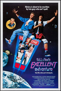 """Bill & Ted's Excellent Adventure & Other Lot (Orion, 1989). One Sheets (2) (27"""" X 41""""). Comedy. ... (T..."""