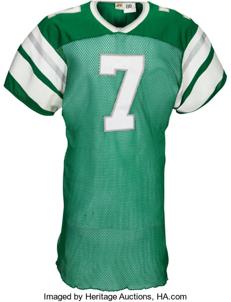 6f1ce2cde1e Football Collectibles:Uniforms, 1980 Ron Jaworski Game Worn Philadelphia  Eagles Jersey - KindlerCollection.