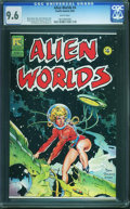 Modern Age (1980-Present):Science Fiction, Alien Worlds #4 (Pacific Comics/Eclipse, 1983) CGC NM+ 9.6 White pages.