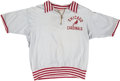 Football Collectibles:Uniforms, 1950's Chicago Cardinals Game Worn Coach's Sideline Shirt....