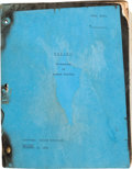 """Movie/TV Memorabilia:Documents, A Script from Alfred Hitchcock's """"Psycho.""""..."""