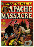 Golden Age (1938-1955):Adventure, Chief Victorio's Apache Massacre #nn (Avon, 1951) Condition:VF-....