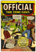 Golden Age (1938-1955):Crime, Official True Crime Cases Comics #25 Cape Cod pedigree (Marvel, 1947) Condition: VF+....