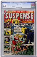 Golden Age (1938-1955):Horror, Suspense #4 (Atlas, 1950) CGC VF+ 8.5 Off-white pages....