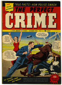 Perfect Crime #5 (Cross Publications, 1950) Condition: VF