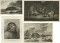 Antiques:Posters & Prints, Thirteen Eyewitness Alaskan-Siberian Views by John Webber fromCaptain Cook's Third and Last Expedition (1776-1779), Publi...(Total: 13 Items)