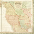Miscellaneous:Maps, S[amuel] Augustus Mitchell, Mitchell's Reference & DistanceMap Of The United States by J. H. Young, 1846. ...