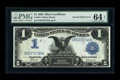 Error Notes:Large Size Errors, Fr. 234 $1 1899 Silver Certificate PMG Choice Uncirculated 64 EPQ....