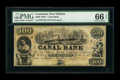 Obsoletes By State:Louisiana, New Orleans, LA- Canal Bank $500 18__. ...