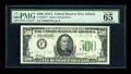 Small Size:Federal Reserve Notes, Fr. 2202-F $500 1934A Federal Reserve Note. PMG Gem Uncirculated 65 EPQ.. ...