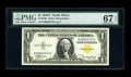 Small Size:World War II Emergency Notes, Fr. 2306 $1 1935A North Africa Silver Certificate. PMG Superb Gem Unc 67 EPQ.. ...