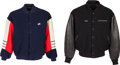 Baseball Collectibles:Uniforms, 1990's Gary Carter Jackets Lot of 2 from The Gary CarterCollection....