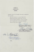 Basketball Collectibles:Others, 1955-56 George Mikan Minneapolis Lakers Player's Contract.. ...