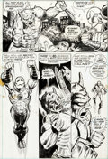 Original Comic Art:Panel Pages, Jim Starlin and Mike Esposito Iron Man #56 Story Page 15Original Art (Marvel, 1973)....