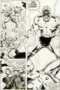 Original Comic Art:Panel Pages, John Romita Jr. and Bob Layton Iron Man #152 Story Page 22Original Art (Marvel, 1981)....