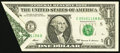Error Notes:Foldovers, Fr. 1924-E $1 1999 Federal Reserve Note. Very Fine-Extremely Fine.....