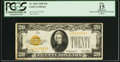 Small Size:Gold Certificates, Fr. 2402 $20 1928 Gold Certificate. PCGS Apparent Fine 15.. ...