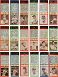 Baseball Cards:Sets, 1935-36 Diamond Match Co. Baseball Matchbook Covers Near Set Plus Uncatalogued Players/Poses/Team and Color Variations (237)....