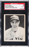 Baseball Cards:Singles (1930-1939), Signed 1939 Play Ball Joe DiMaggio #26 SGC Authentic....
