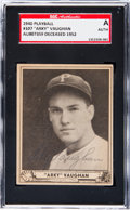 Baseball Cards:Singles (1940-1949), Signed 1940 Play Ball Arky Vaughan #107 SGC Authentic....