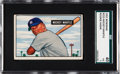 Baseball Cards:Singles (1950-1959), 1951 Bowman Mickey Mantle #253 SGC 40 VG 3....