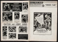 """Movie Posters:Science Fiction, Forbidden Planet (MGM, 1956). Uncut Pressbook (20 Pages, 12.25"""" X17""""). Science Fiction.. ..."""