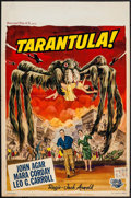 "Movie Posters:Science Fiction, Tarantula (Universal International, 1955). Belgian (14"" X 20.25"").Science Fiction.. ..."