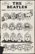 "Movie Posters:Rock and Roll, The Beatles (1964). 10th Anniversary Poster (23"" X 35""). Rock andRoll.. ..."