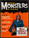 """Movie Posters:Horror, Famous Monsters of Filmland #2 (Central Publications, 1958). Magazine (66 Pages, 8.25"""" X 11""""). Horror.. ..."""