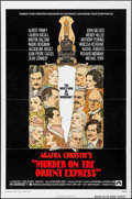 "Movie Posters:Mystery, Murder on the Orient Express & Other Lot (Paramount, 1974). OneSheets (2) (27"" X 41"") Flat Folded. Mystery.. ... (Total: 2 Items)"