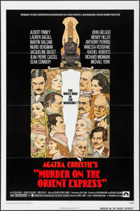 "Murder on the Orient Express & Other Lot (Paramount, 1974). One Sheets (2) (27"" X 41"") Flat Folded. Myster..."
