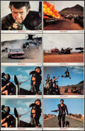 """Movie Posters:Science Fiction, Mad Max 2: The Road Warrior (Warner Brothers, 1982). International Lobby Cards (8) (11"""" X 14""""). Science Fiction.. ... (Total: 8 Items)"""