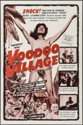 """Movie Posters:Documentary, Sorcerers' Village (Continental, R-1960s). One Sheet (27"""" X 41""""). Documentary. Reissue Title: Voodoo Village.. ..."""