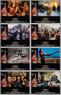 "Movie Posters:Action, Conan the Barbarian (Universal, 1982). Lobby Card Set of 8 (11"" X 14""). Action.. ... (Total: 8 Items)"