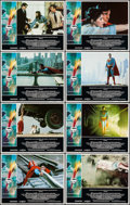 """Movie Posters:Action, Superman the Movie (Warner Brothers, 1978). Lobby Card Set of 8(11"""" X 14""""). Action.. ... (Total: 8 Items)"""