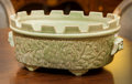 Asian:Chinese, A Chinese Celadon Glazed Porcelain Jardinière. 6-3/4 h x 16 w x11-1/4 d inches (17.1 x 40.6 x 28.6 cm). ...