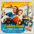 "Movie Posters:Action, The Golden Hawk (Columbia, 1952). Six Sheet (80.5"" X 81""). Action....."