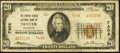National Bank Notes:Colorado, Denver, CO - $20 1929 Ty. 2 The United States NB Ch. # 7408. ...