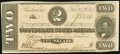 Confederate Notes, T70 $2 1864 PF-5 Cr. 567....