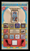 "Music Memorabilia:Awards, Grateful Dead RIAA Gold Record Over-sized Sales Award for ""TheGolden Road (1965-1973).""..."