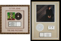 Music Memorabilia:Awards, Elton John RIAA Platinum Sales Awards for Love Songs (MCAMCAD-11481, 1996) and The Big Picture (Rocke... (Total: 2Items)