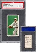 Baseball Cards:Singles (Pre-1930), 1909-11 T206 Carolina Brights Chief Myers (Meyers, Fielding) PSA EX 5 - Pop One, None Higher. ...
