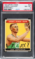 Basketball Cards:Singles (Pre-1970), 1933 Sport Kings Joe Lopchick #32 PSA NM-MT 8....