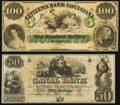 Obsoletes By State:Louisiana, New Orleans, LA- Citizens' Bank of Louisiana $100 18__ Remainder. New Orleans, LA- New Orleans Canal & Banking Compy. $5... (Total: 2 notes)
