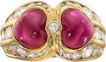Estate Jewelry:Rings, Ruby, Diamond, Gold Ring, Bvlgari. ...
