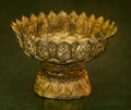 Silver Holloware, Continental:Holloware, An Anglo-Indian Gilt Metal Bowl. 3-3/4 h x 5-3/8 di inches (9.5 x13.7 cm). ...